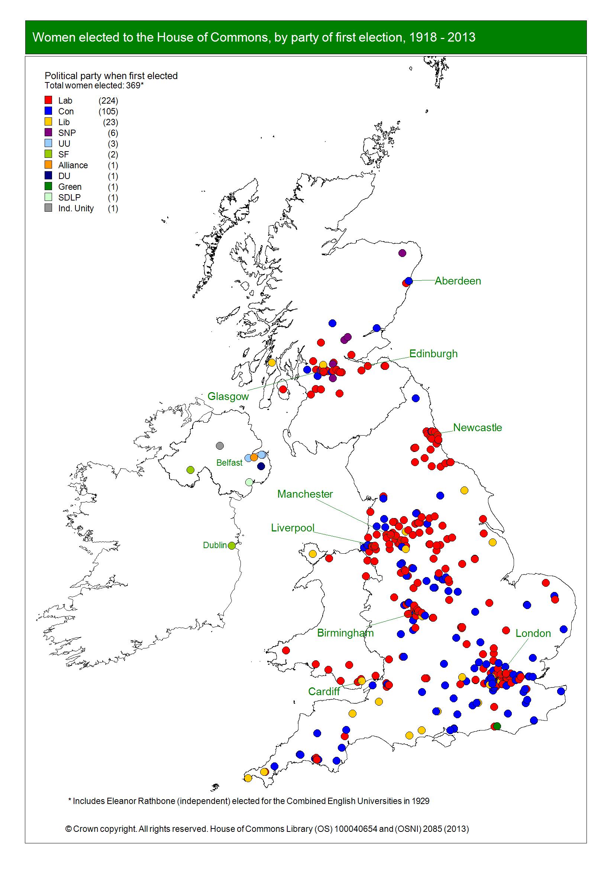 Women map