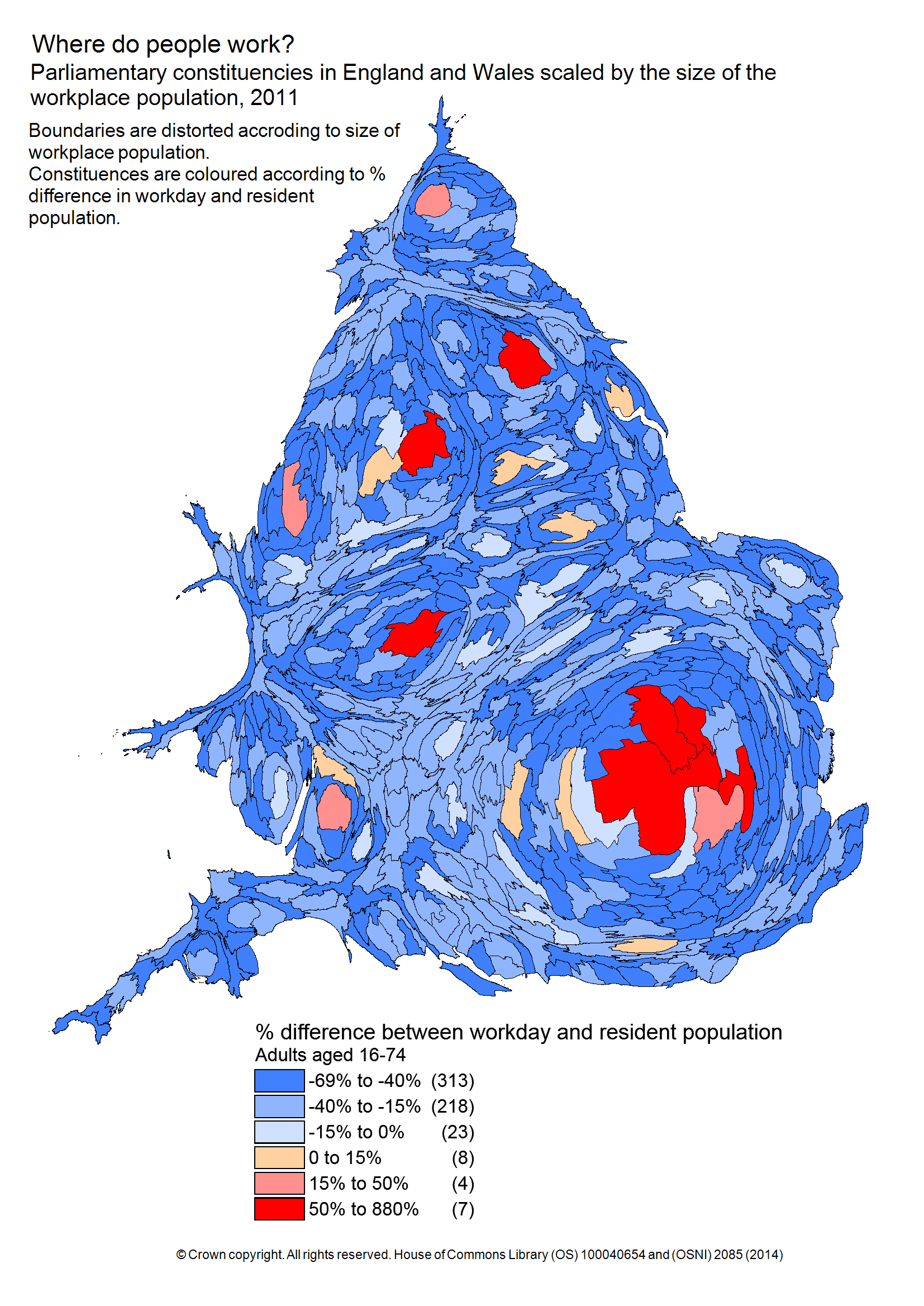 Map Of Uk Parliamentary Constituencies.Who Works In Your Constituency A New Interactive Tool For Exploring